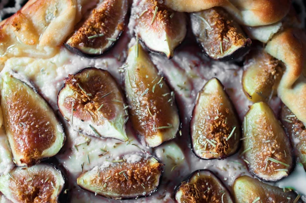 fig and lavender goat cheese fig and lavender galette figs and ...
