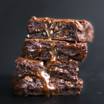 Salted Caramel Brownies & A $40 Amazon Gift Card Giveaway!