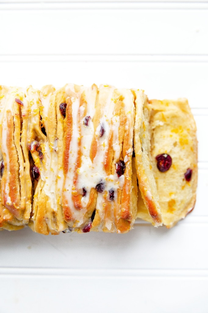 Cranberry Orange Pull Apart Bread | Broma Bakery