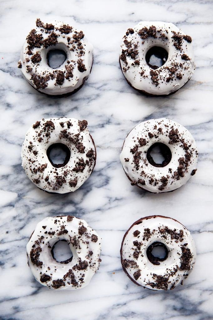 oreo donuts on countertop