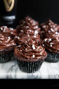 Chocolate Stout Cupcakes - Broma Bakery