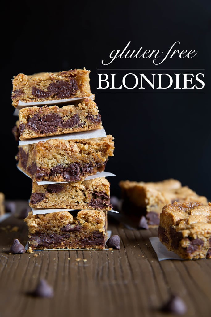 My favorite blondie recipe gets a twist with Gluten Free Blondies. Because you can have your gluten free, and eat it too!