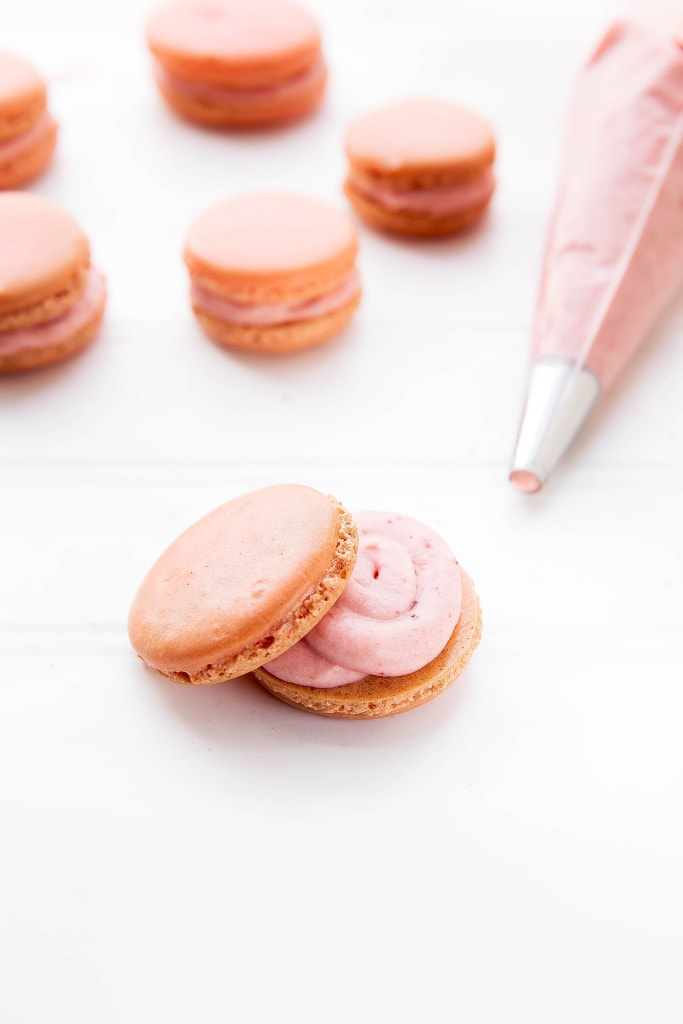 Pink Lemonade Macarons are like springtime in your mouth!