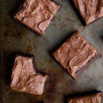Double Chocolate Bourbon Brownies