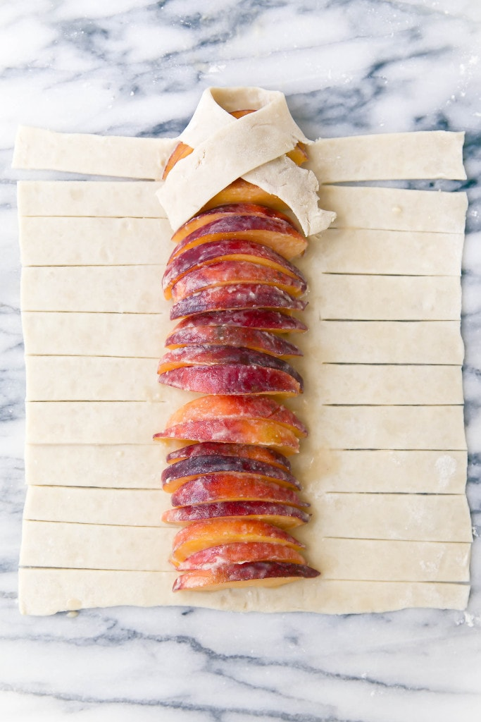 Aromatic and warm, this Lavender Peach Strudel is sure to amaze!
