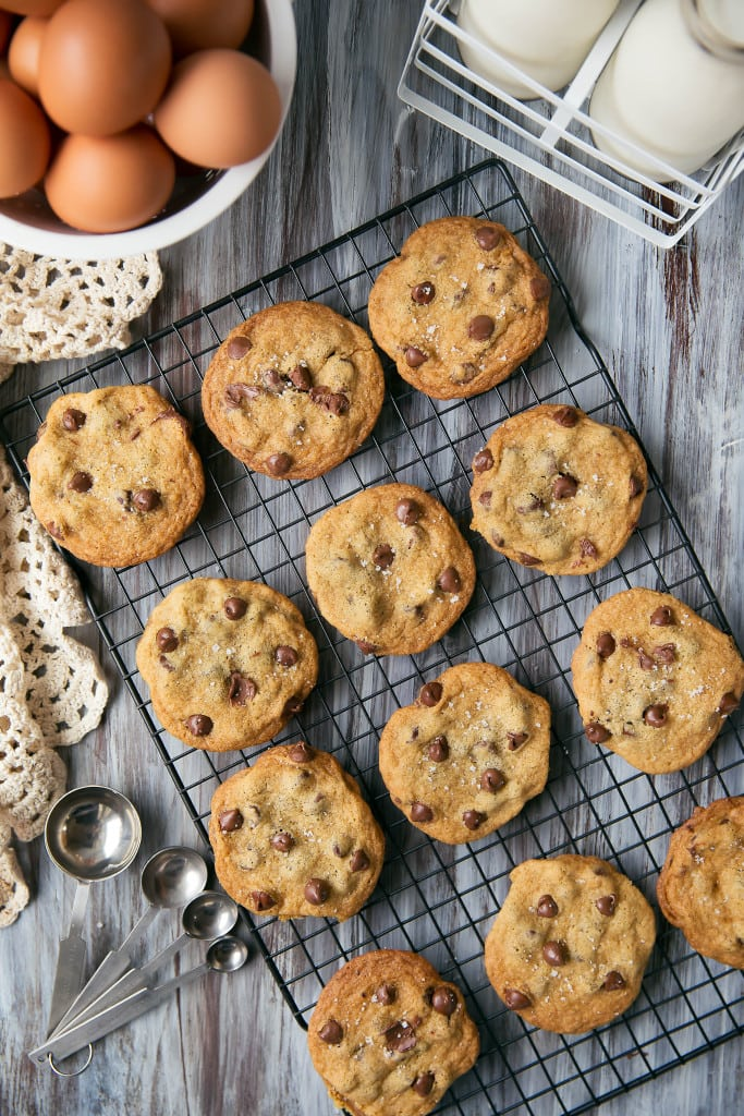 The best chocolate chip cookies I've ever had. Period.