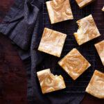 Pumpkin Pie White Chocolate Brownies