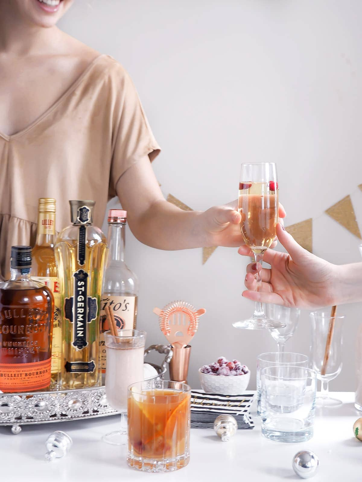 The secrets to a successful holiday cocktail party are revealed in this easy how to!