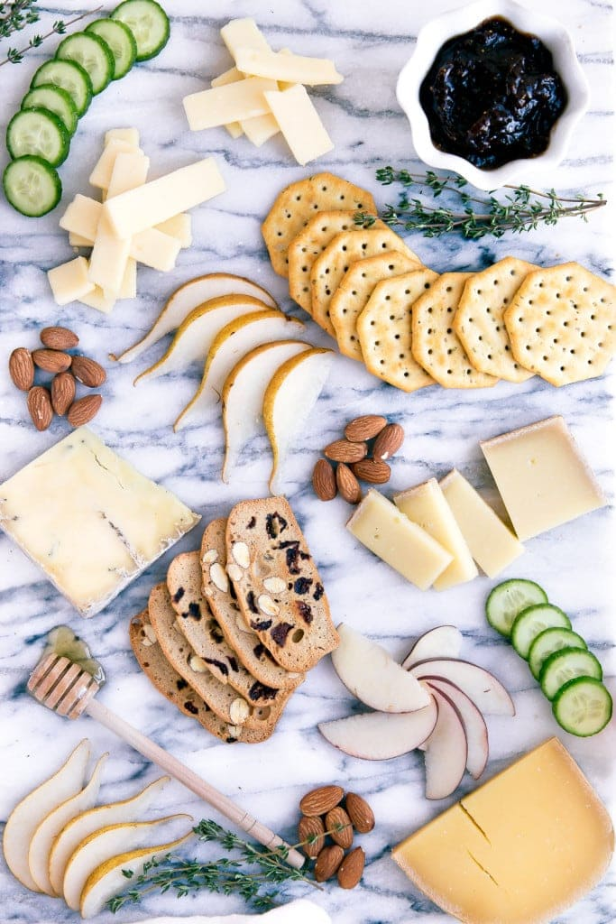 Everything you need for a perfect holiday cheese board in three easy categories!