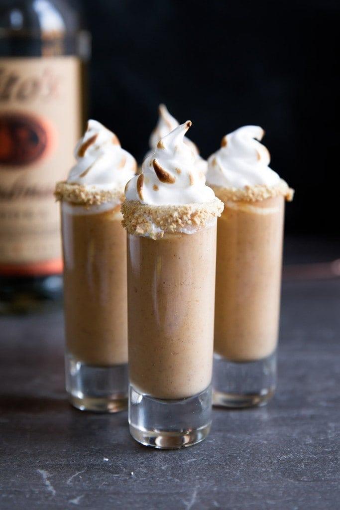 Pumpkin Shooters Drink Recipe