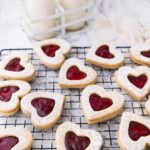 Say I love you to someone sweet with these perfectly soft Cherry Linzer cookies.
