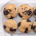 Chocolate Chunk Muffins-3