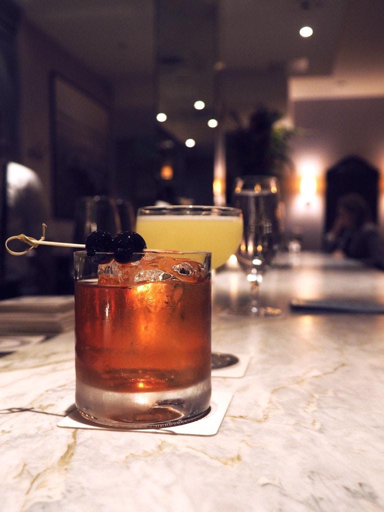 Drinks at The Hawthorne, Boston