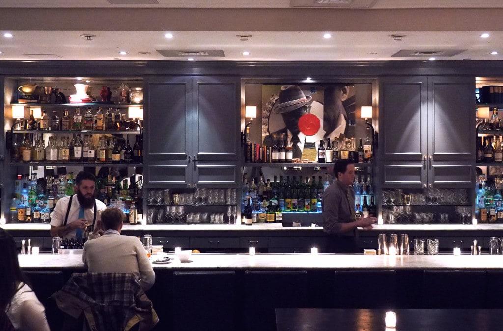 The bar at The Hawthorne, Boston