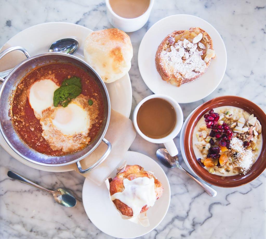 Breakfast at Sofra Bakery, Cambridge