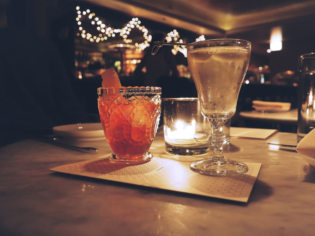 Drinks at Celeste, Chicago