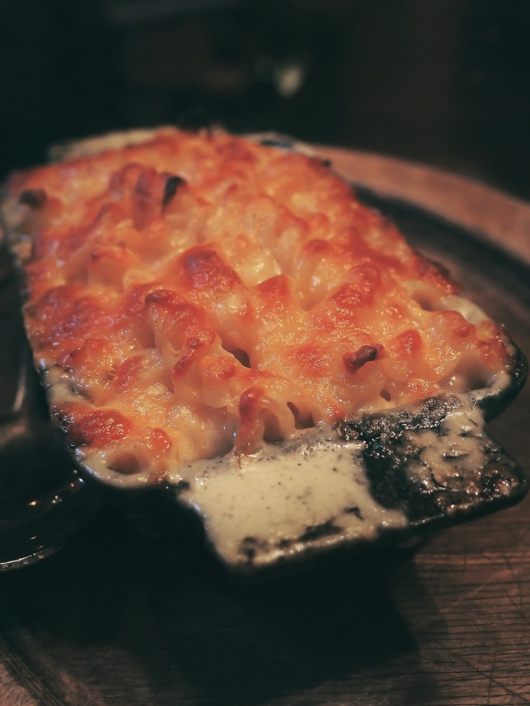 Baked Mac & Cheese at Frontier, Chicago