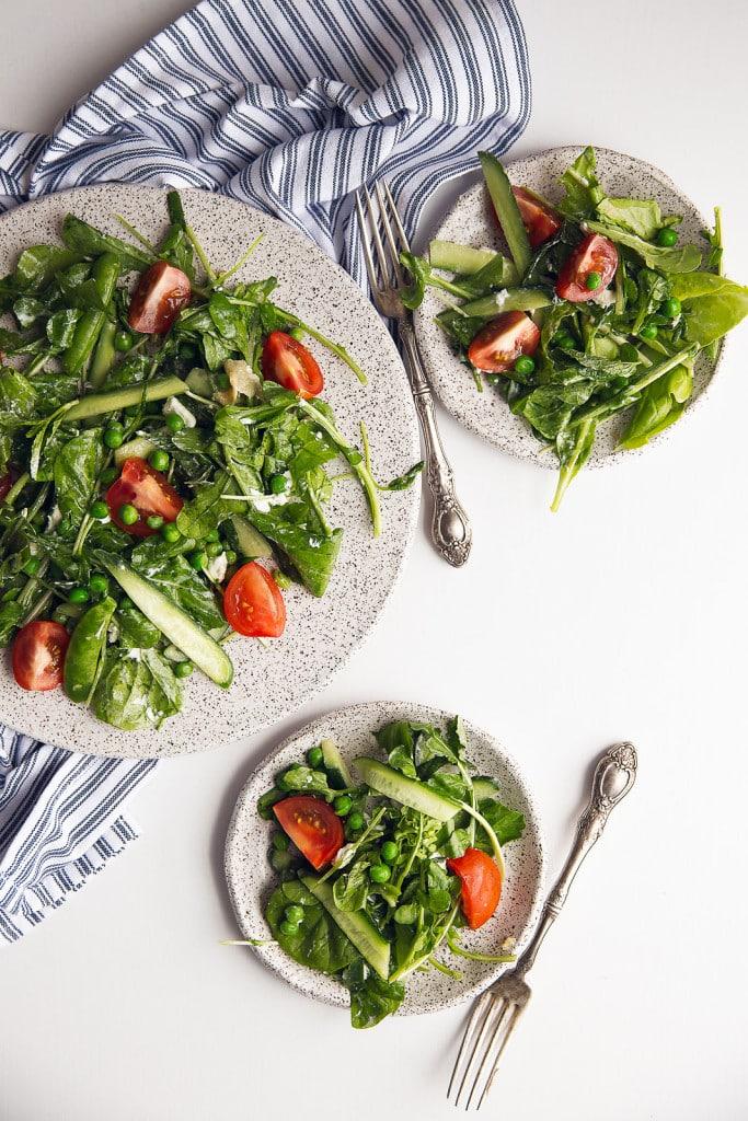 Spring Green Goddess Salad