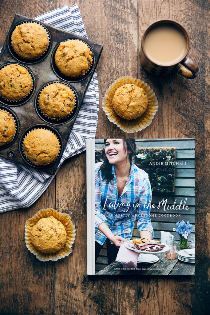 Morning Glory Muffins with cookbook