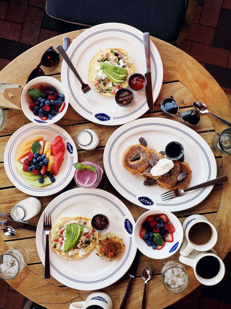 Breakfast at Proof Canteen, Four Seasons Scottsdale
