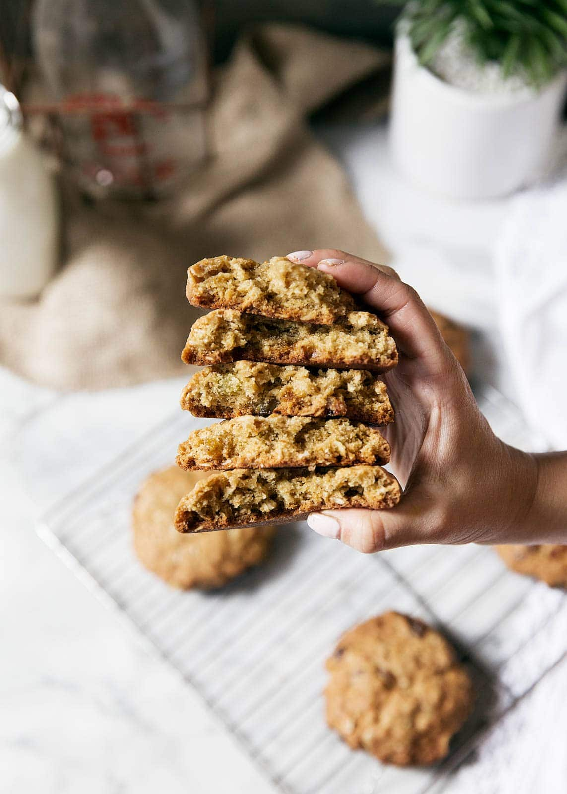 """Baked"" Oatmeal Cookies With Cardamom Recipe — Dishmaps"