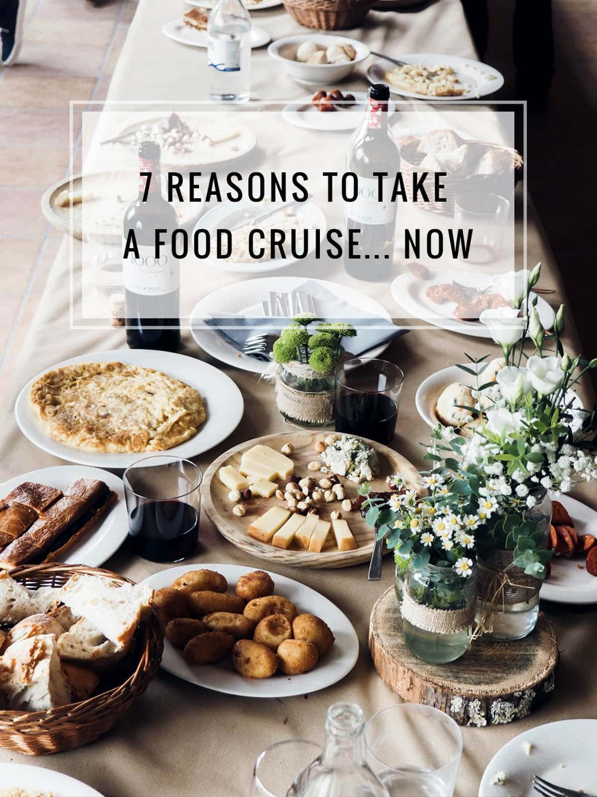 7 reasons to take a food cruise titl