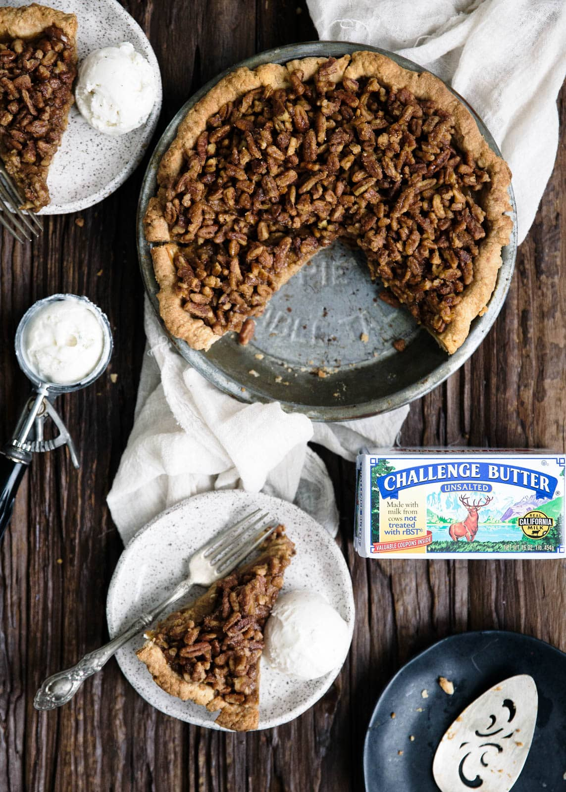 boozy bourbon pumpkin filling in this maple bourbon pecan pumpkin pie ...