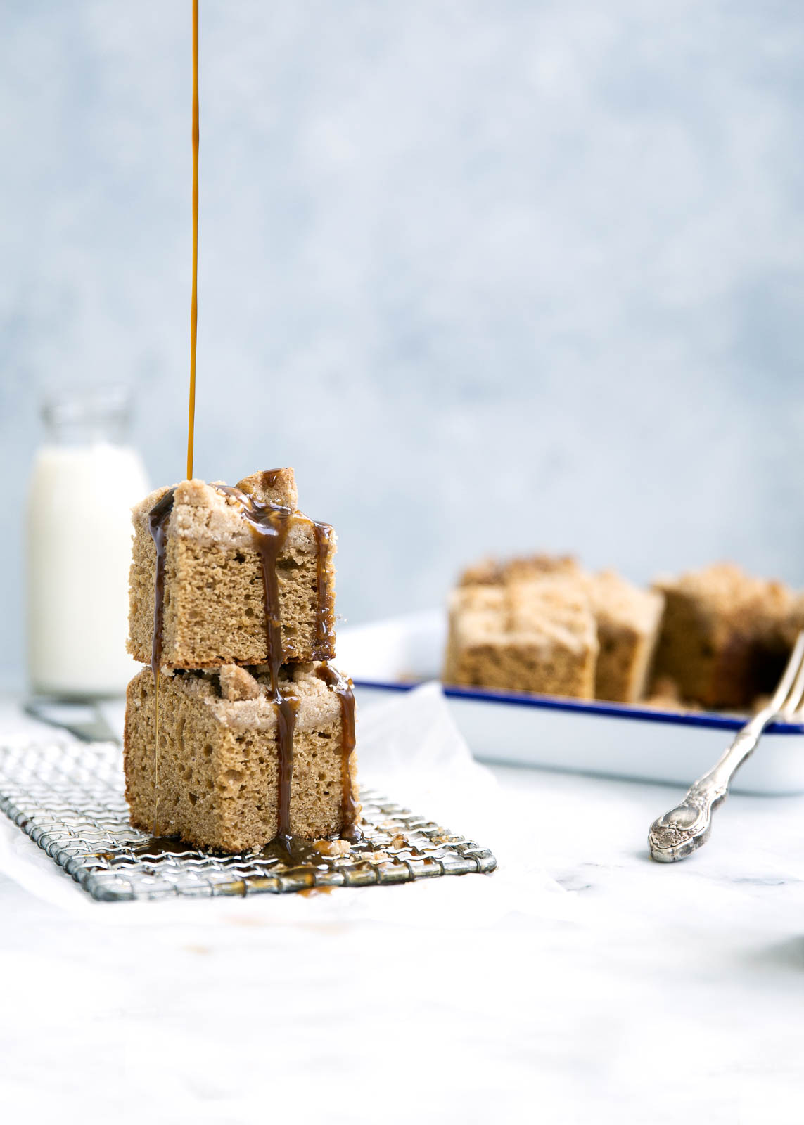 Icelandic Skyr Spice Cake with Toffee Sauce - Broma Bakery