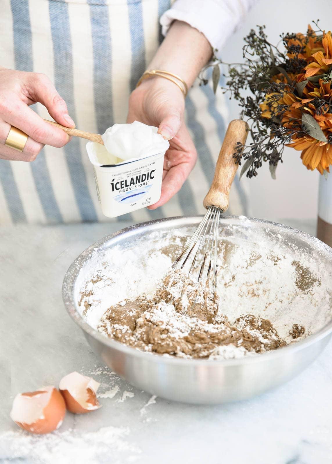 How to make a Skyr Spice Cake