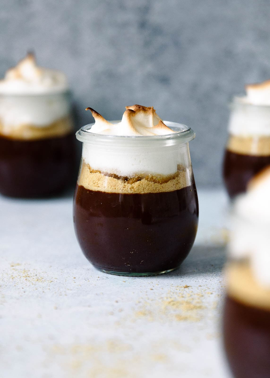 The most beautiful and addicting s'mores pots de creme. They just happen to be paleo and dairy-free, too! GET IN MY BELLY.