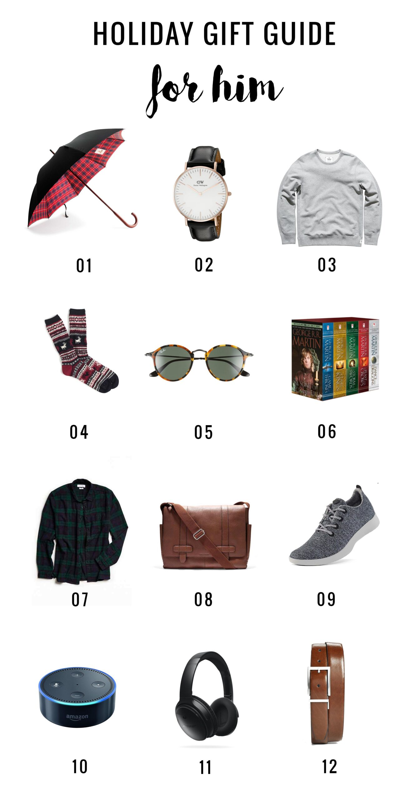 Broma Gift Guide 2016: For Him