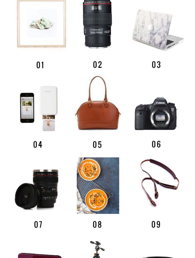 Broma Gift Guide 2016: For the Photographer