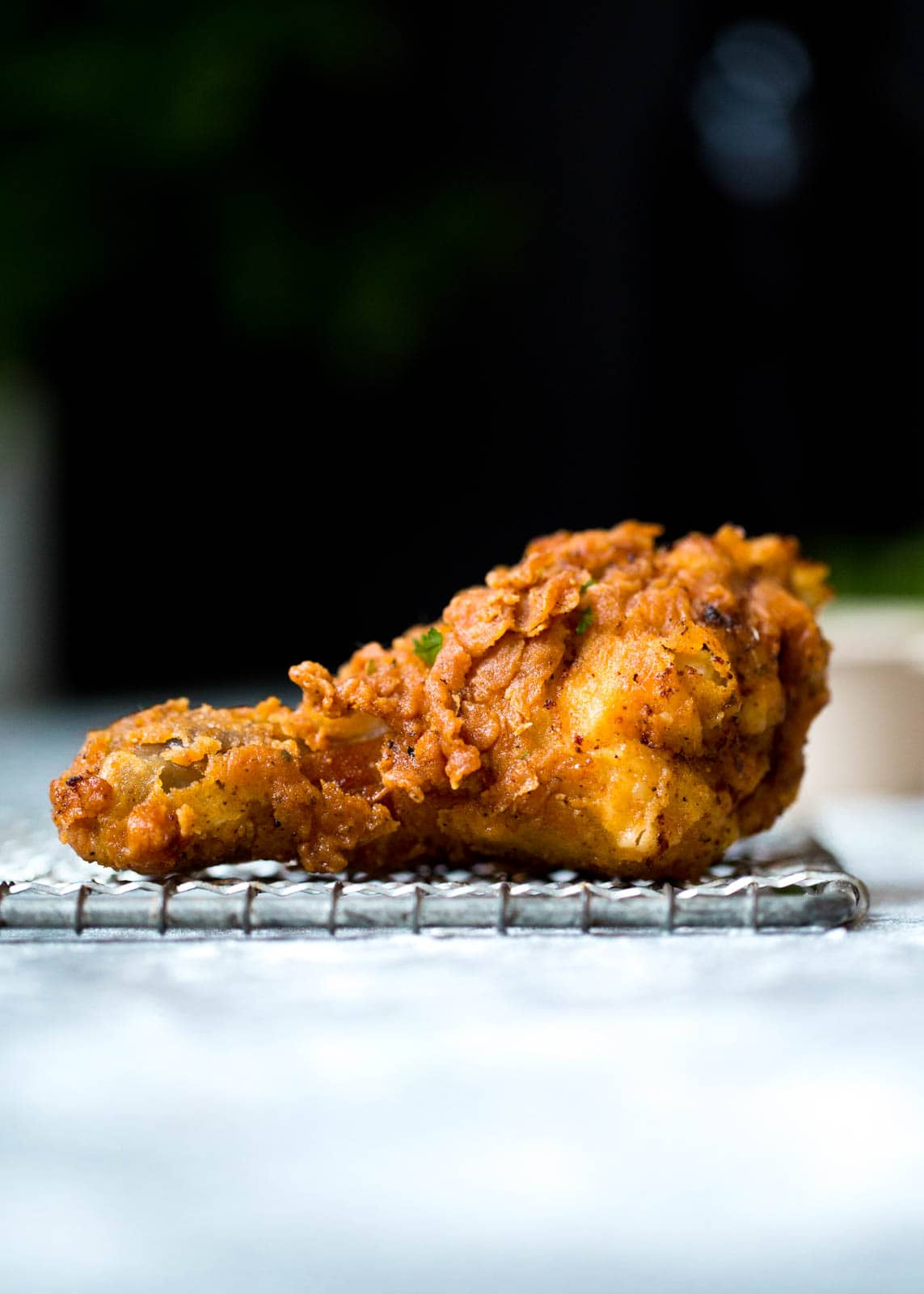 buttermilk fried chicken leg