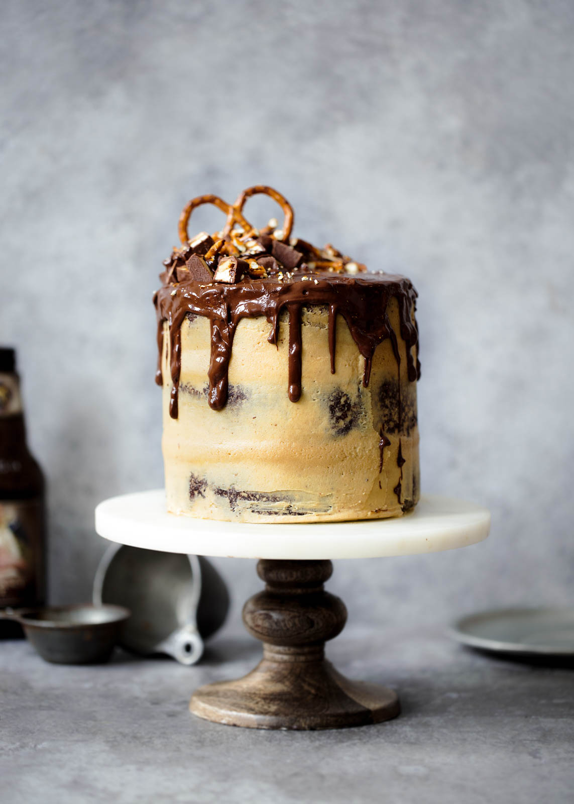 Peanut Butter Chocolate Stout Cake