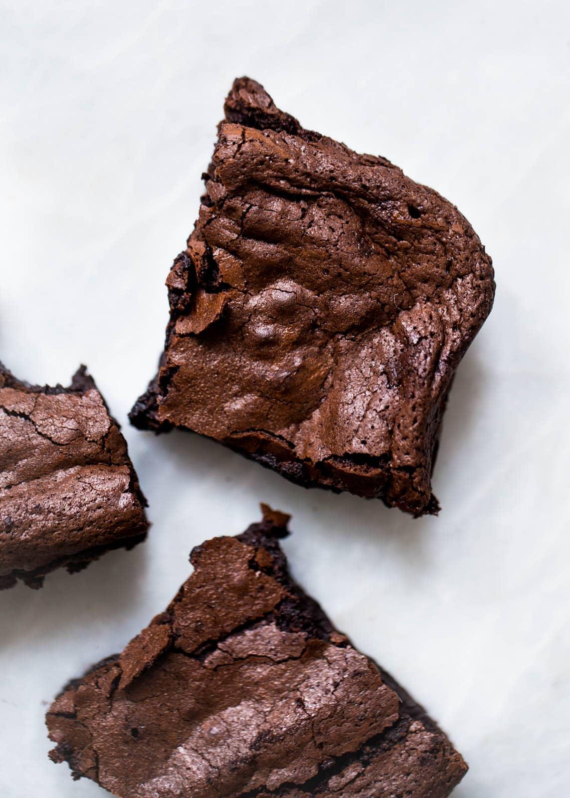 red wine brownies