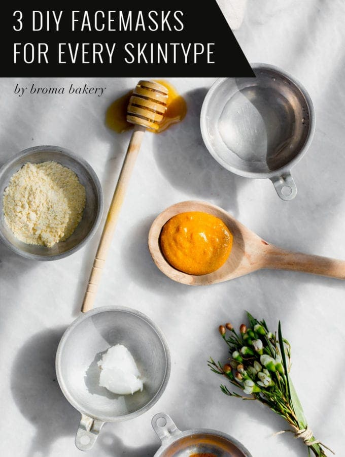 3 DIY Facemasks For Every Skin Type