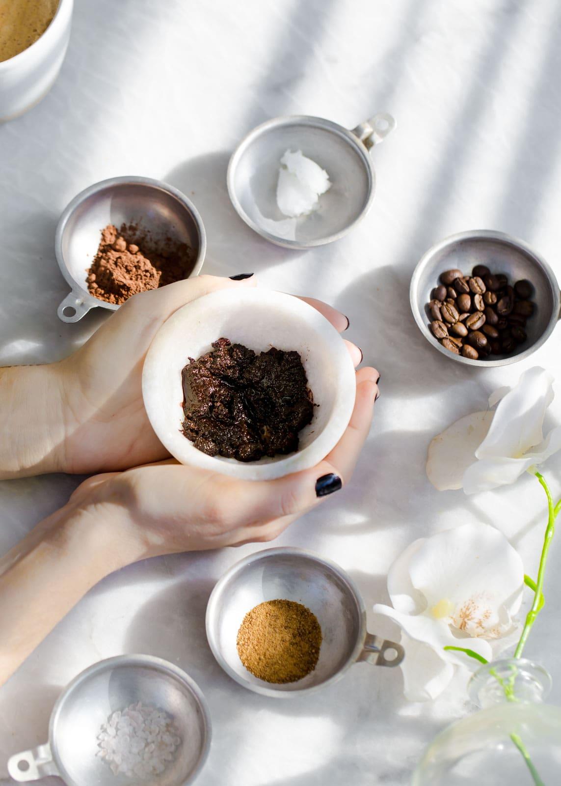 Exfoliating Cacao + Coffee Scrub