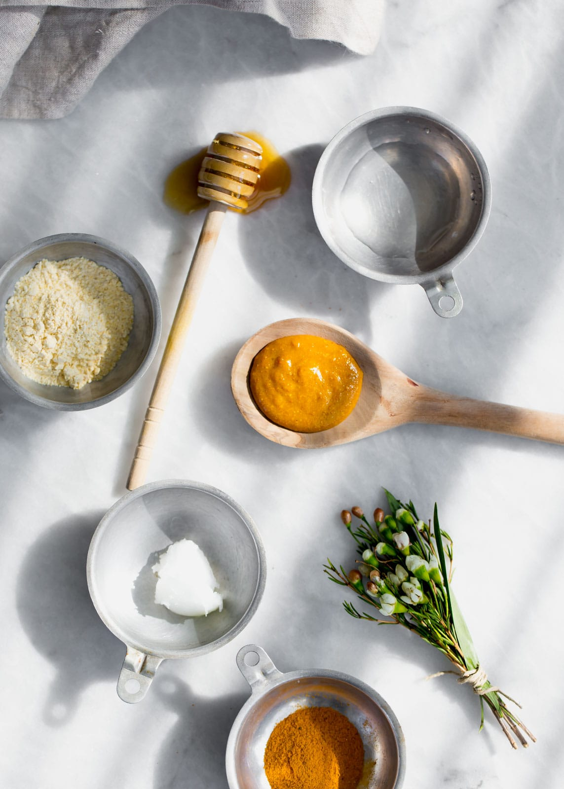 Restorative Chickpea Turmeric Mask