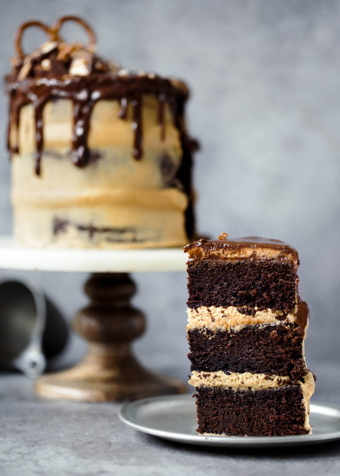 Peanut Butter Chocolate Stout Cake + What I'm Reading Lately ...