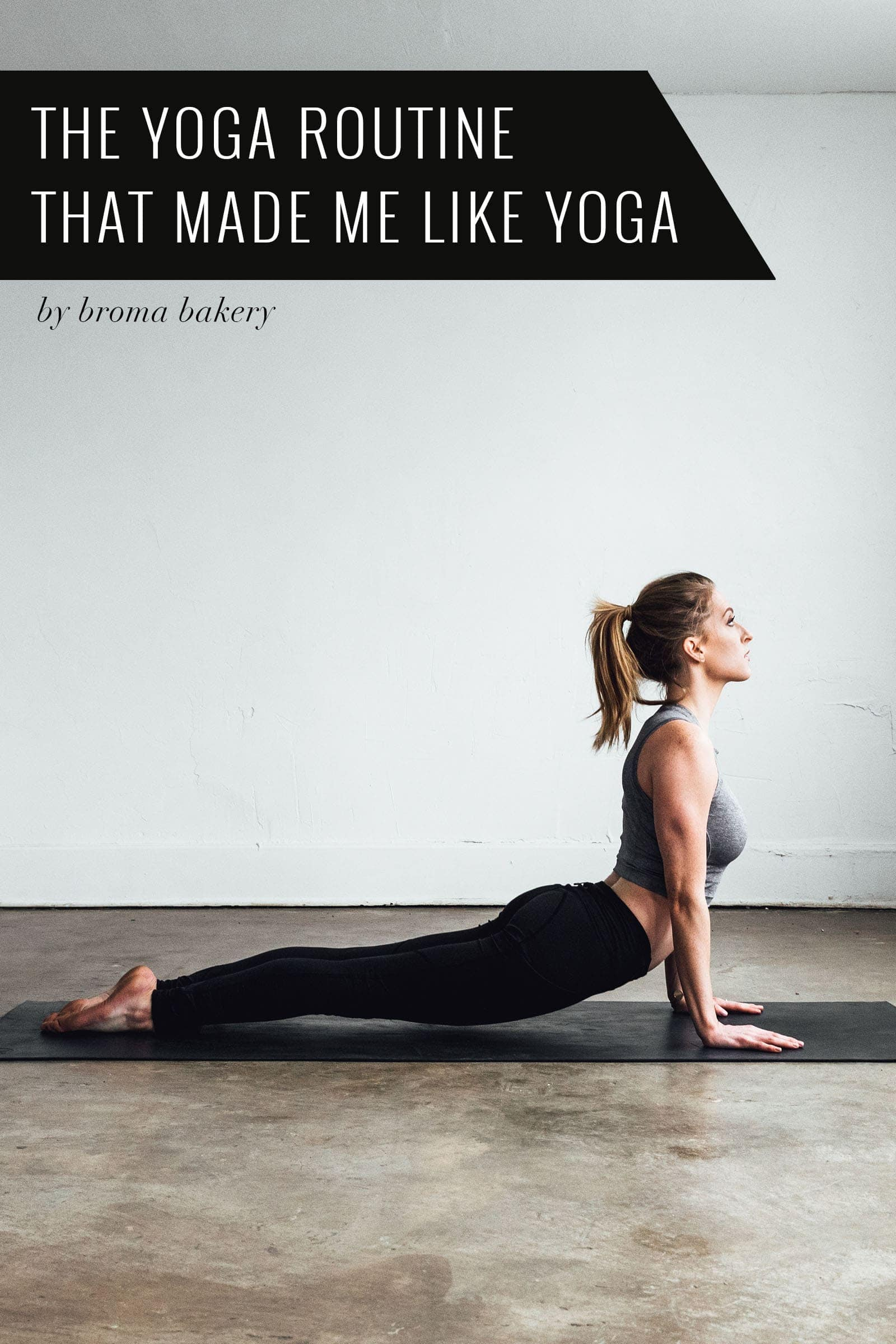 Find out how this yoga-hating girl became a yoga super-fan!