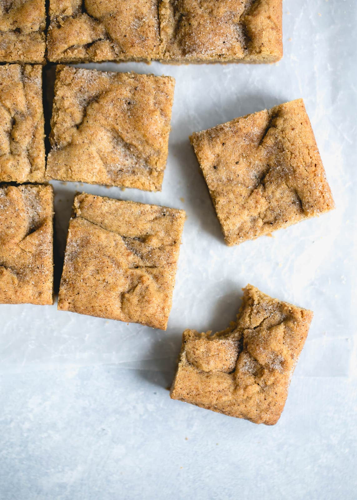 The easiest and most addicting Chewy Chai Blondies with hints of cardamom, ginger, and cinnamon!