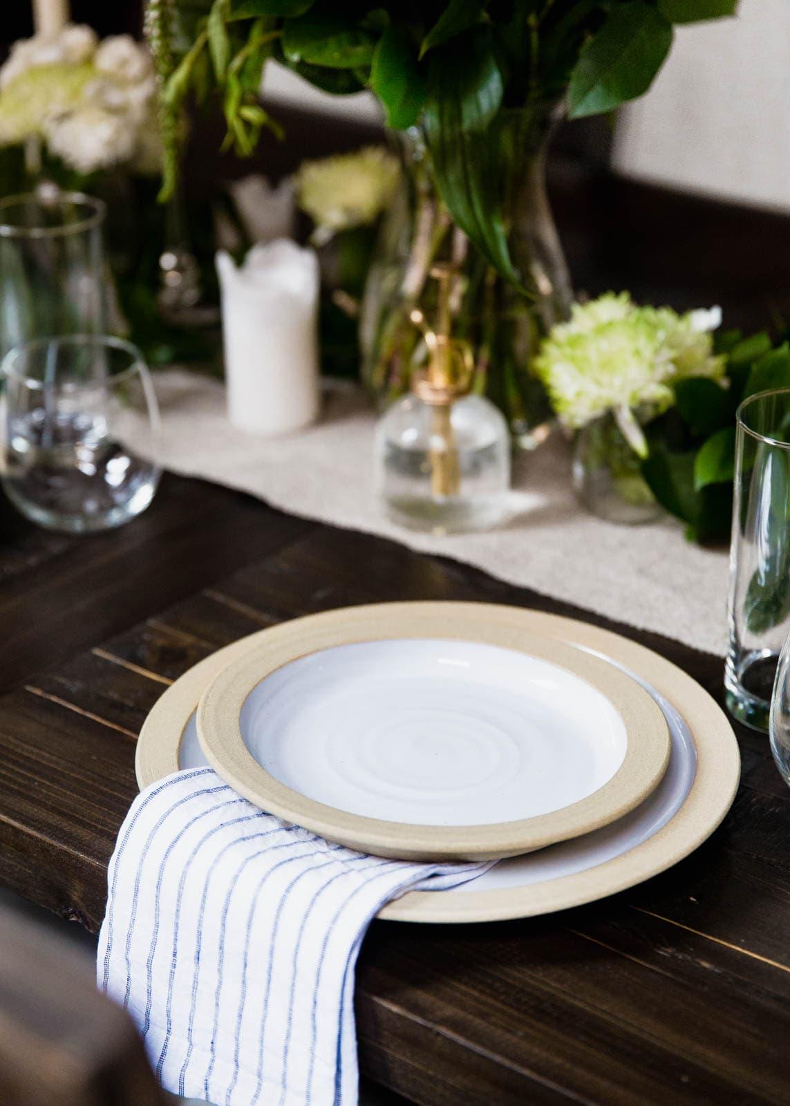 Farmhouse Pottery Plates <3