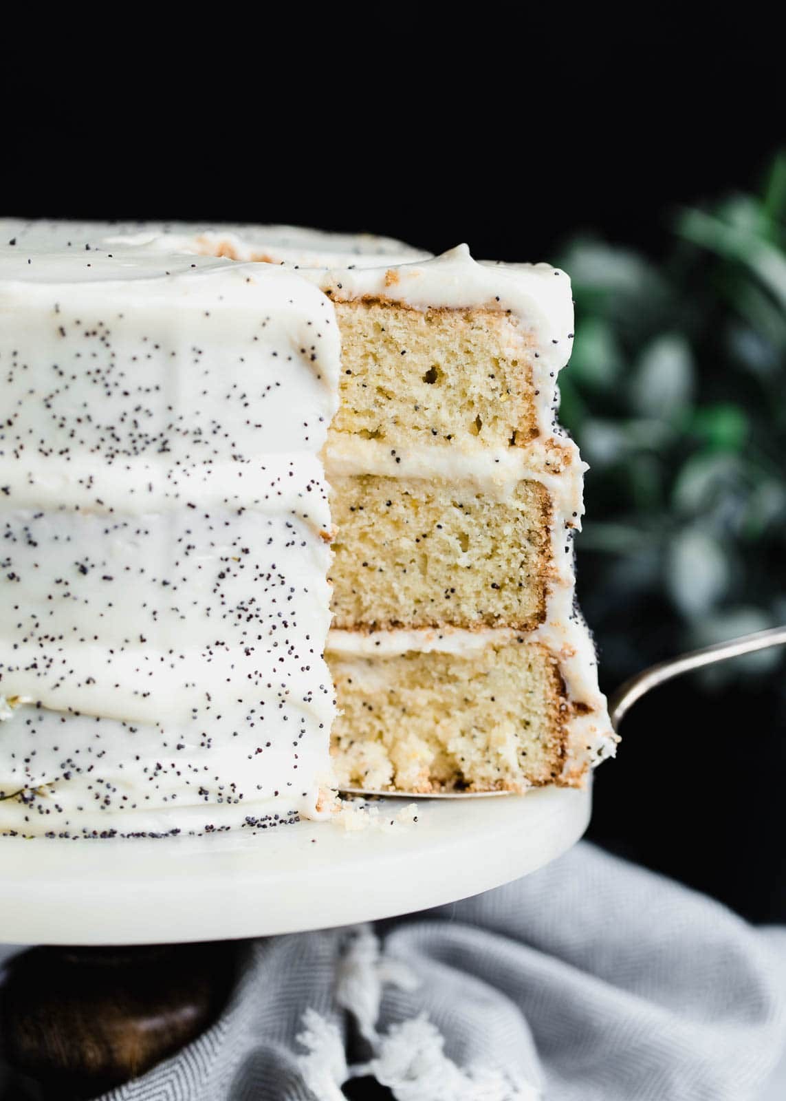 Lemon Poppyseed Cake Broma Bakery