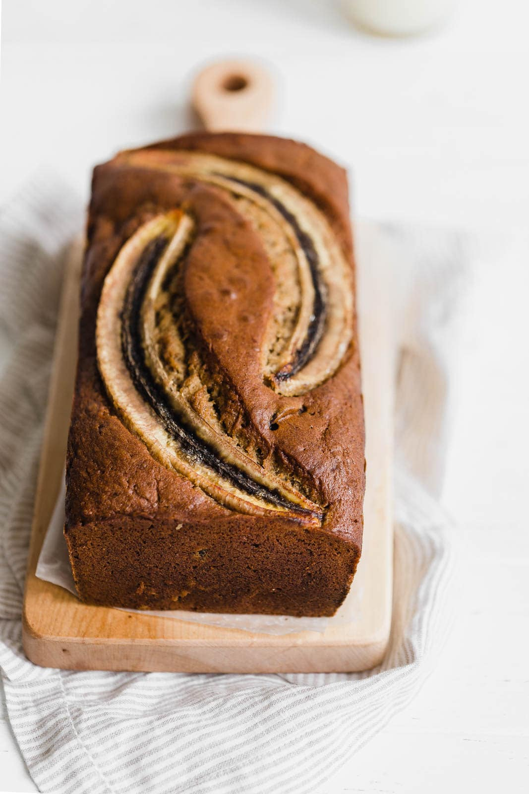 loaf of Bourbon Banana Cherry Bread