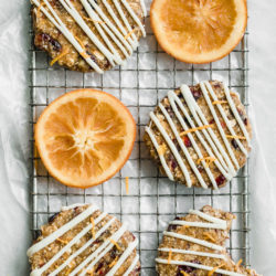 Raw, gluten-free, and vegan, these No-Bake Cranberry Orange Breakfast Bars are the best way to start your day.