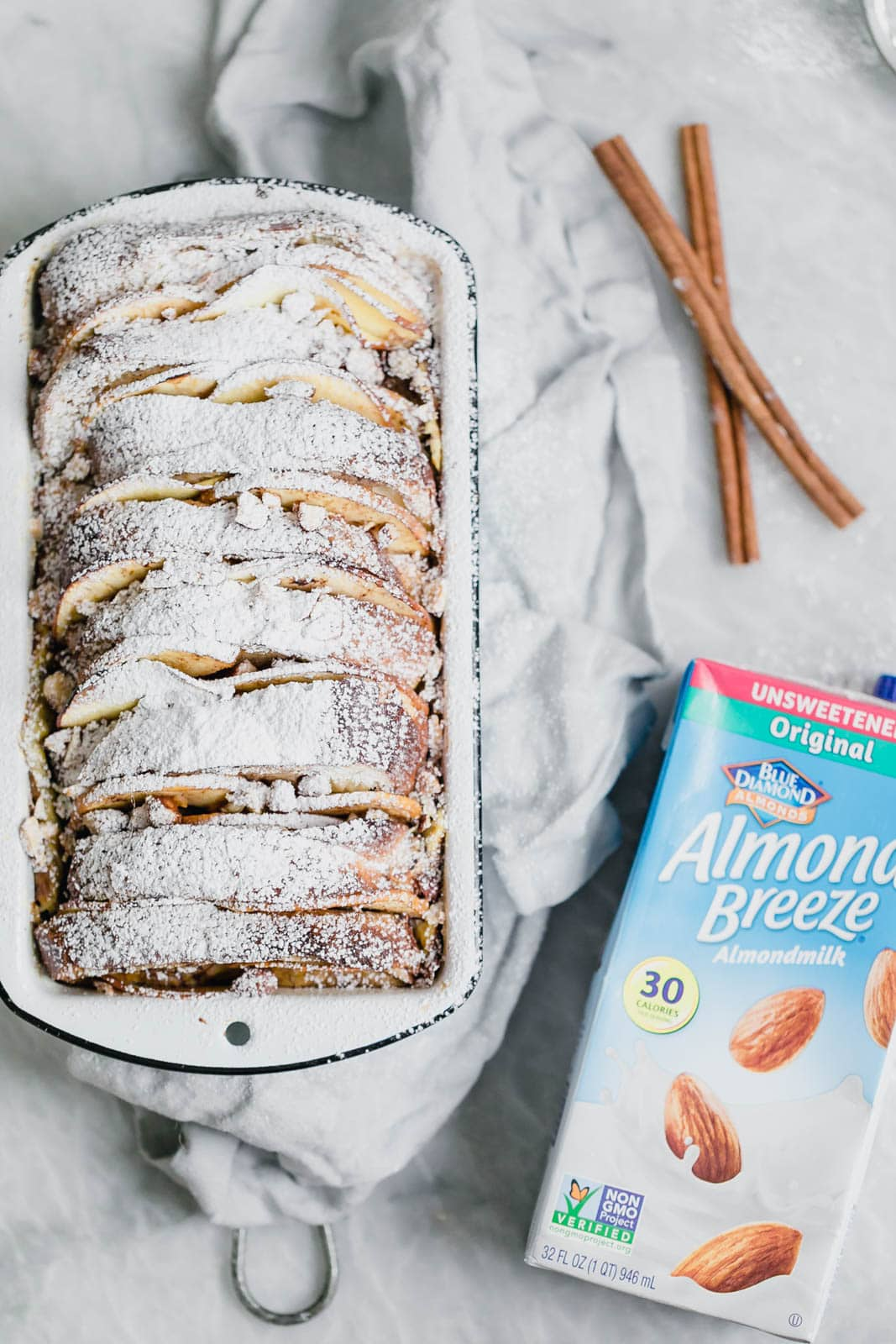 baked french toast with almond milk