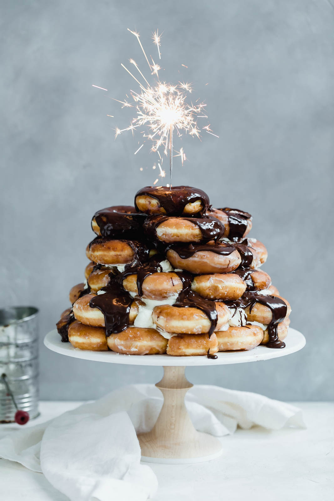 Absolutely Epic Doughnut Cake