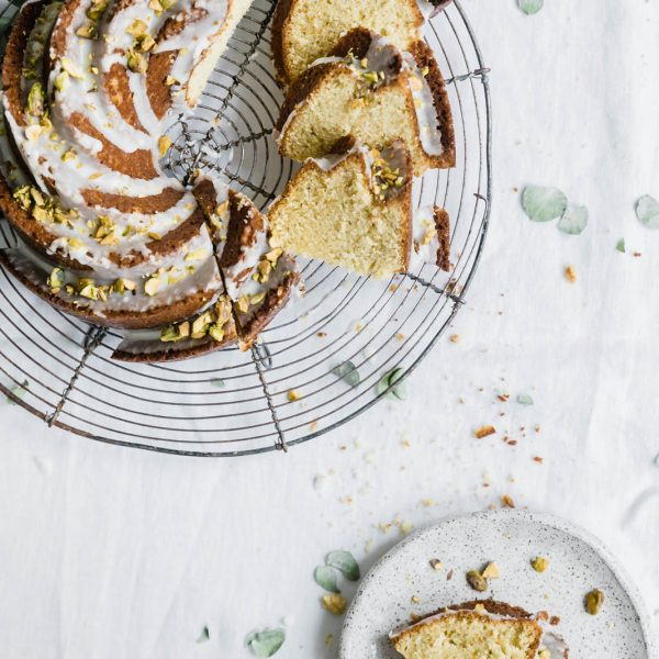 Pistachio Olive Oil Cake - Broma Bakery