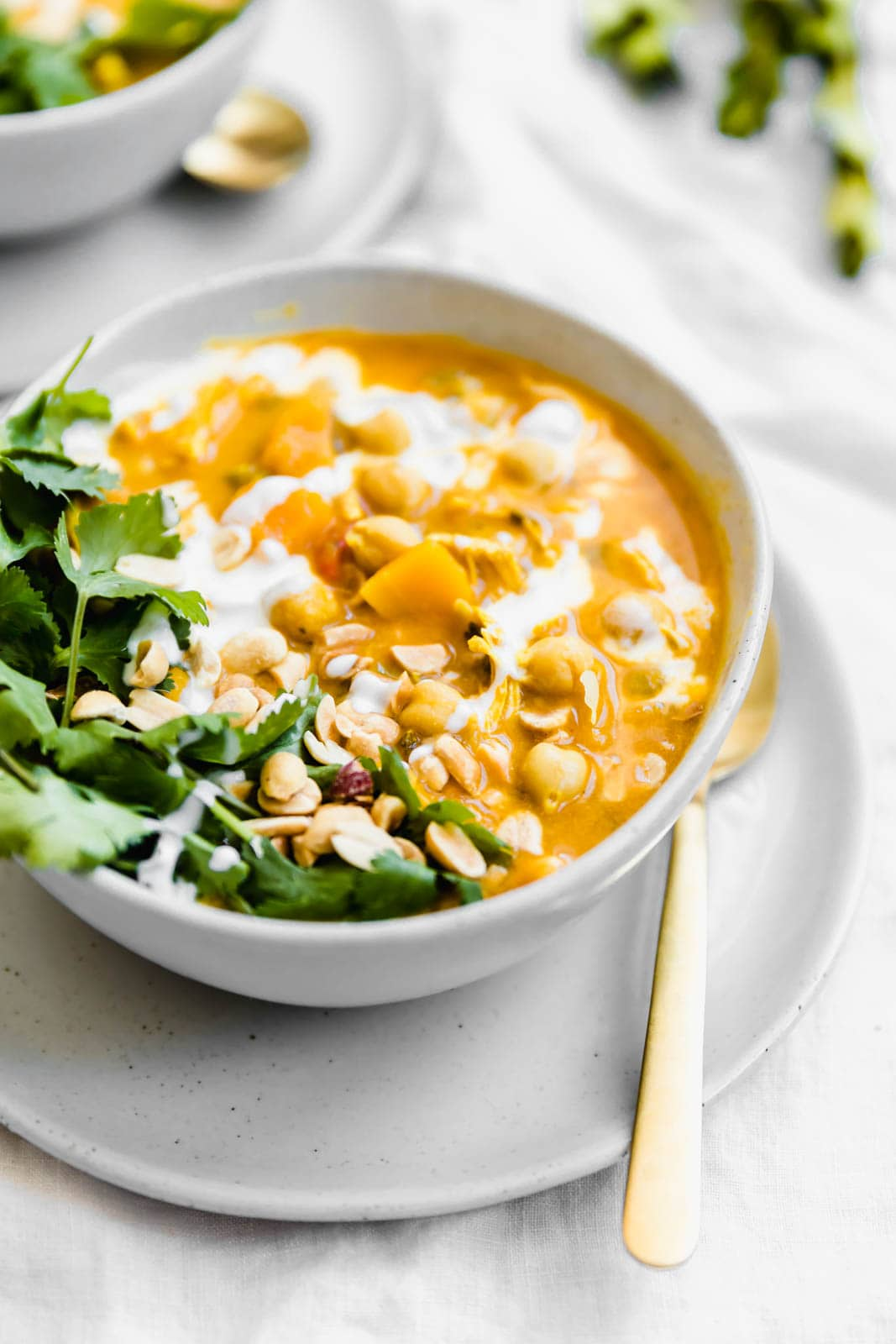 bowl of Turmeric Chicken Soup