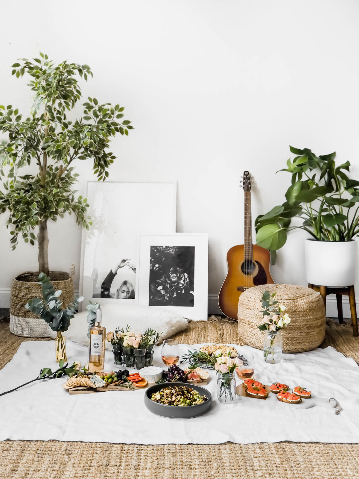 5 Steps to Create the Perfect Indoor Picnic Date Night (with recipes ...